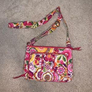vera bradley ICONIC little hipster in clementine